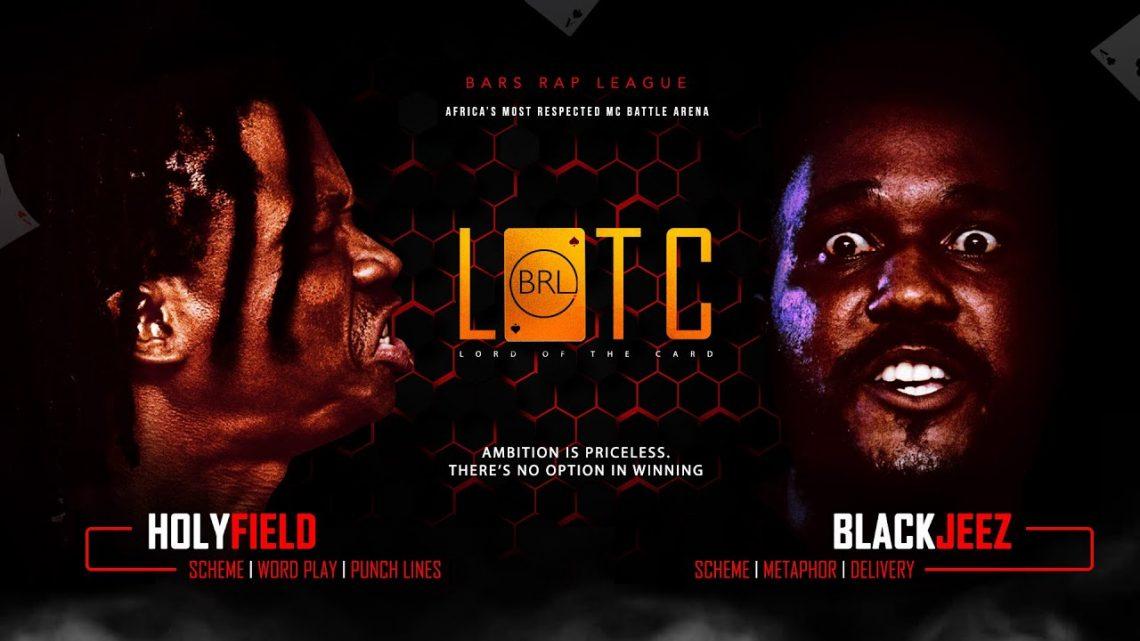 [Battle Rap] Black Jeez vs Holyfield