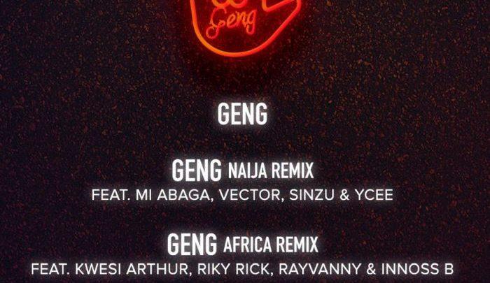 """Mayorkun """"Geng (Naija Remix)"""" Lyrics (feat. M.I Abaga x Vector x Sinzu x Ycee)"""