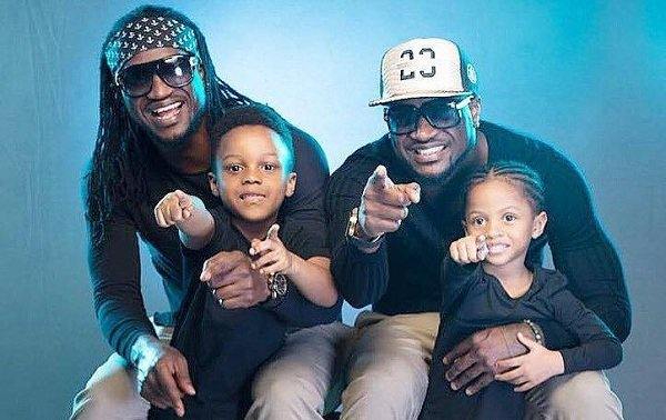 Peter and Paul Okoye Psquare Mr P and Rudeboy
