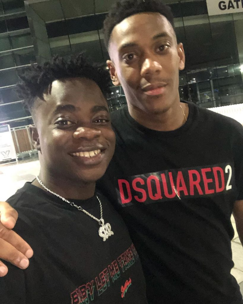 Trod with Anthony Martial