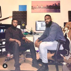 Oyemykke in the studio