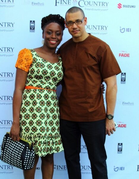 Ivara Esege and Chimamanda