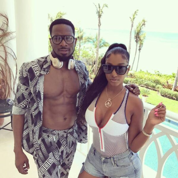 Lineo Didi and husband DBanj
