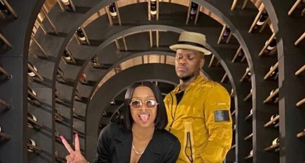 Murdah Bongz and Dj Zinhle Photo