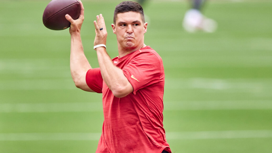 Nick Mullens Biography: Stats, Age, College, Net Worth, Wife, Contracts, Ethnic, News, Draft, Wikipedia